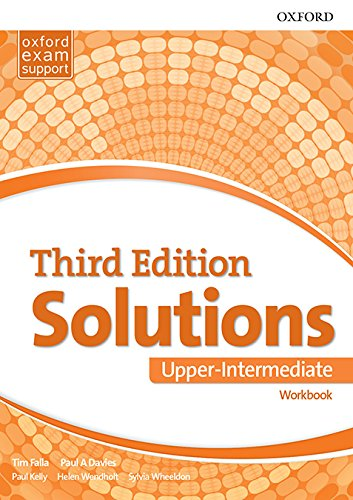 SOLUTIONS UPPER-INTERMEDIATE 3rd ED Workbook