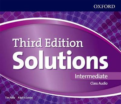 SOLUTIONS INTERMEDIATE 3rd ED Class Audio CD