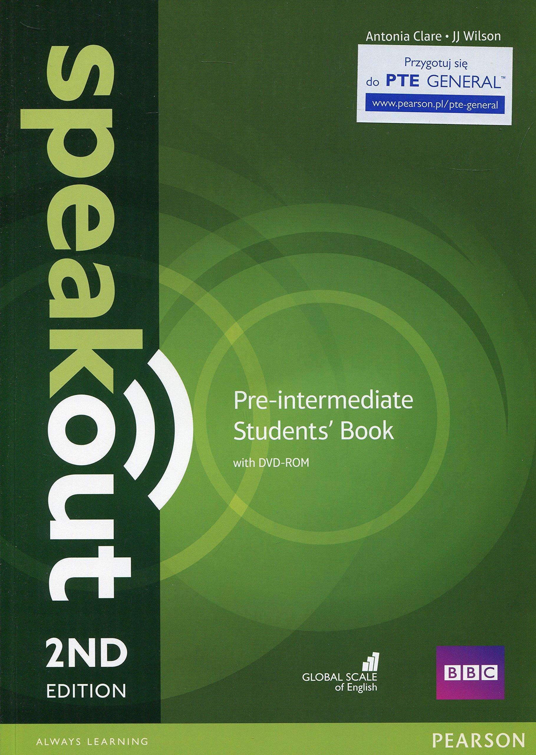 SPEAKOUT  PRE-INTERMEDIATE 2nd ED Student's  Book+ DVD-ROM
