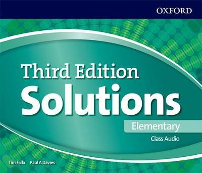 SOLUTIONS ELEMENTARY 3rd ED Class Audio CD