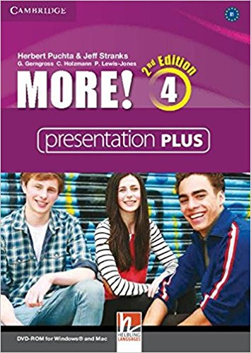 MORE! 4 2nd ED Presentation Plus DVD-ROM