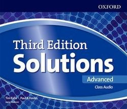 SOLUTIONS ADVANCED 3rd ED Class Audio CD