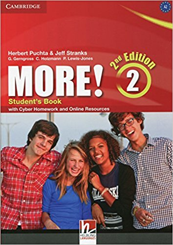 MORE! 2 2nd ED Student's Book + Cyber Homework and Online Resources