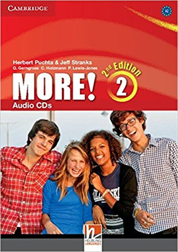 MORE! 2 2nd ED Class Audio CD(x3)