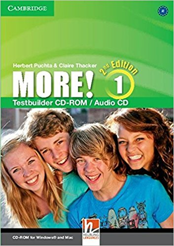 MORE! 1 2nd ED Testbuilder CD-ROM/Audio CD