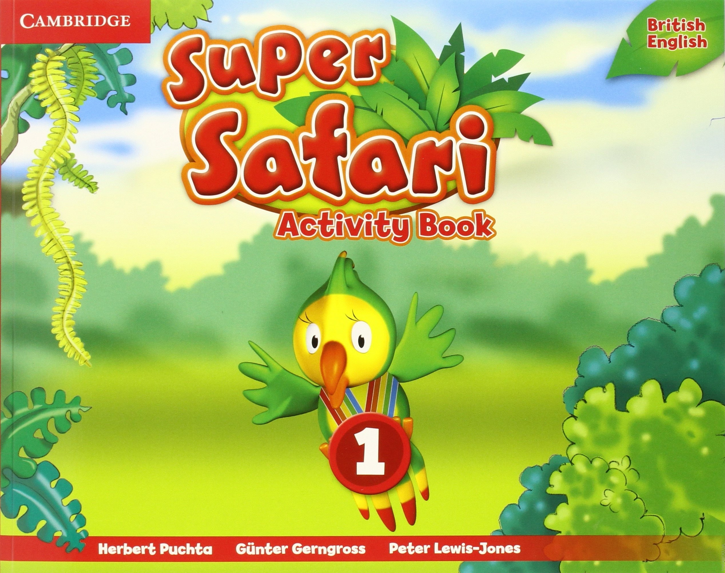 SUPER SAFARI 1 Activity Book
