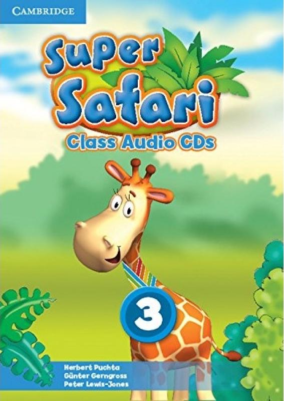 SUPER SAFARI 3 Class Audio CD