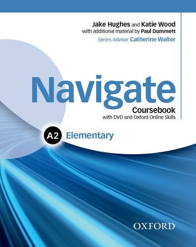 NAVIGATE ELEMENTARY Student's  Book + DVD + Oxford Online Skills Program