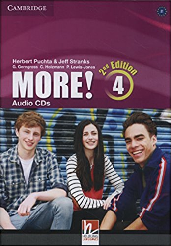 MORE! 4 2nd ED Class Audio CD(x3)