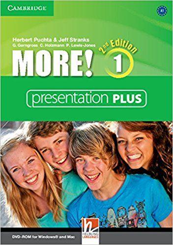 MORE! 1 2nd ED Presentation Plus DVD-ROM