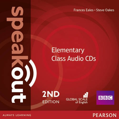 SPEAKOUT  ELEMENTARY 2nd ED Audio CD