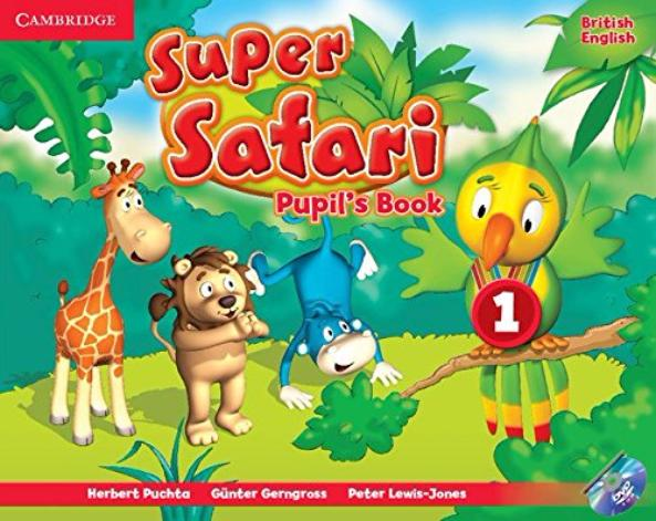 SUPER SAFARI 1 Pupil's Book + DVD-ROM