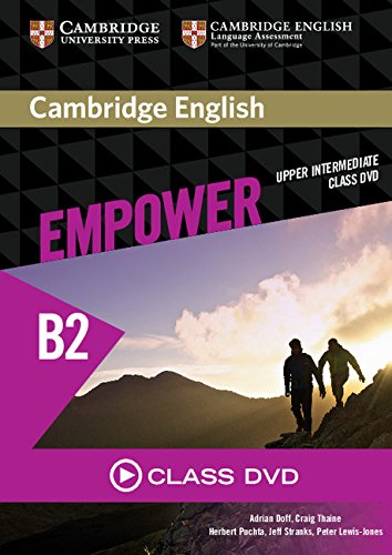 CAMBRIDGE ENGLISH EMPOWER UPPER- INTERMEDIATE DVD