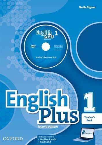 ENGLISH PLUS 1 2ED Teacher's Book with Teacher's Resource Disk & Practice Kit Access