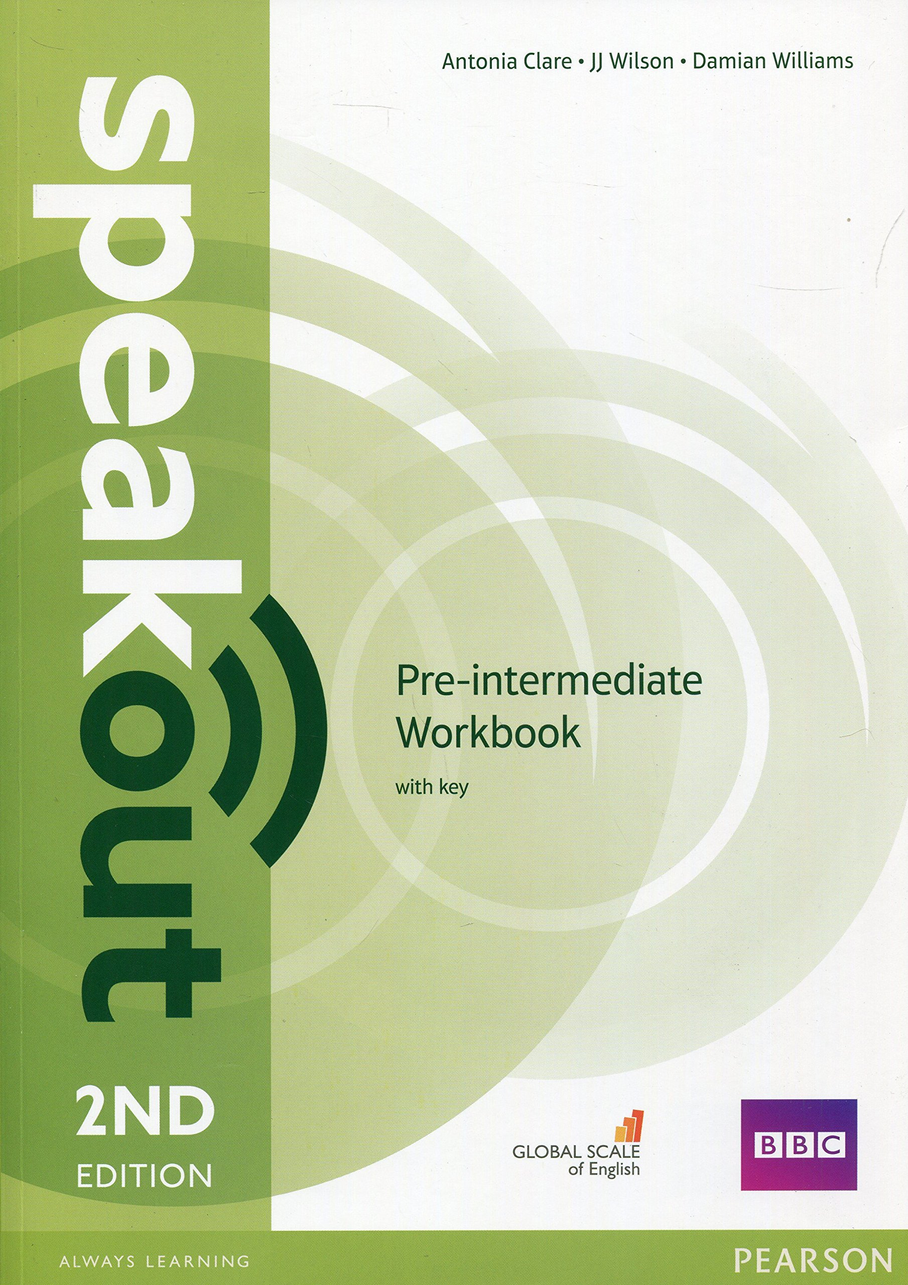 SPEAKOUT  PRE- INTERMEDIATE 2nd ED Workbook  with answers