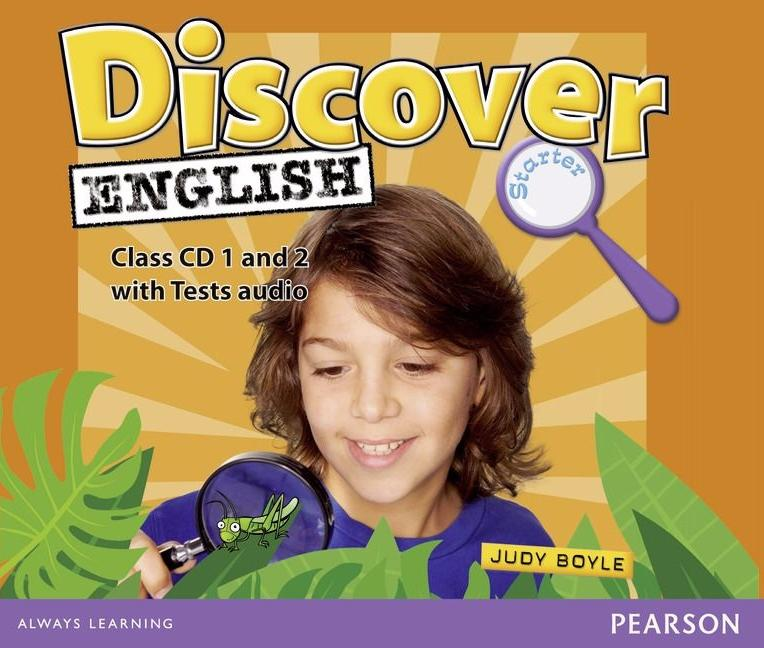 DISCOVER ENGLISH GLOBAL STARTER Class Audio CD (x2)