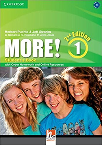 MORE! 1 2nd ED Student's Book + Cyber Homework and Online Resources