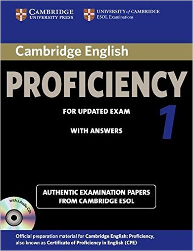 CAMBRIDGE ENGLISH PROFICIENCY 1 Student's Book with Answers + Audio CD