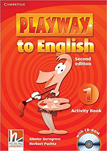 PLAYWAY TO ENGLISH 2nd ED 1 Activity Book + CD-ROM