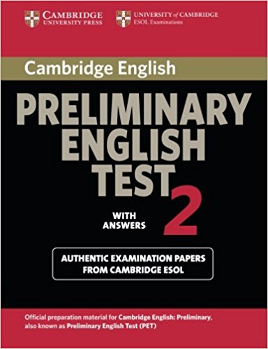 Cambridge PET 2 Student's Book with answers