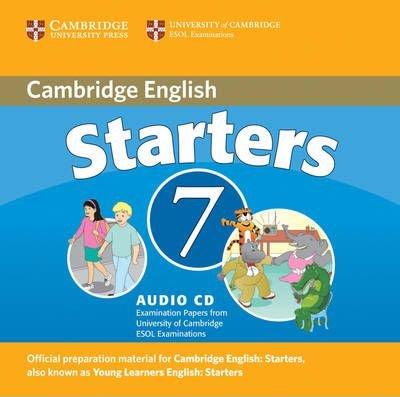 CAMBRIDGE YOUNG LEARNERS ENGLISH TESTS Starters 7 Class Audio CD