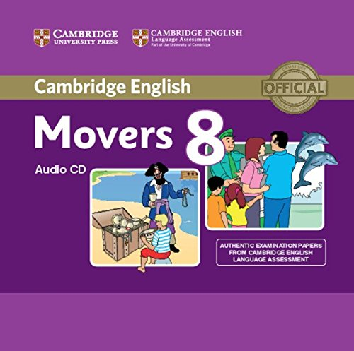 CAMBRIDGE YOUNG LEARNERS ENGLISH TESTS Movers 8 Class Audio CD