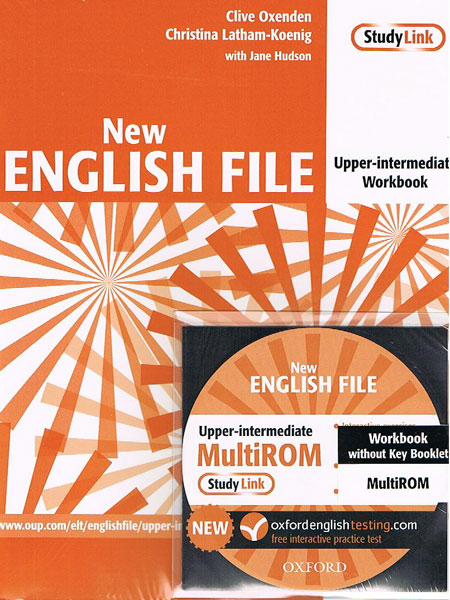 NEW ENGLISH FILE UPPER-INTERMEDIATE Workbook without Key + MultiROM