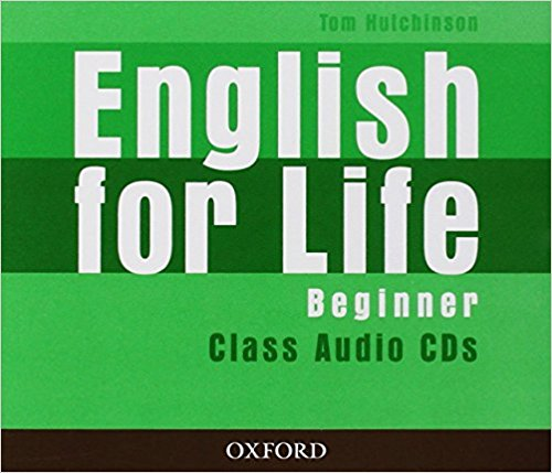 ENGLISH FOR LIFE  BEGINNER Audio CD