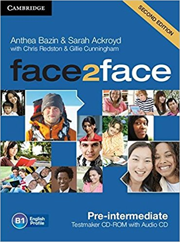FACE 2 FACE PRE-INTERMEDIATE 2nd ED Testmaker CD-ROM + Audio CD