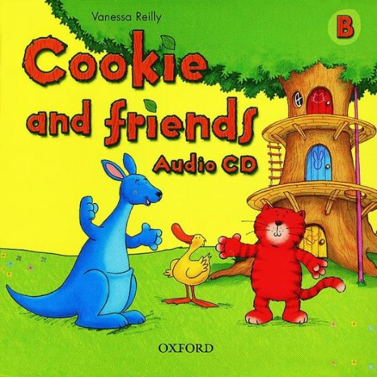 COOKIE & FRIENDS B Class Audio CD