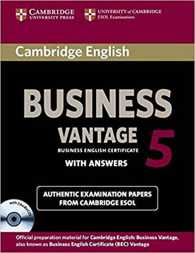 CAMBRIDGE BEC 5 VANTAGE Student's Book with Answers + Audio CD