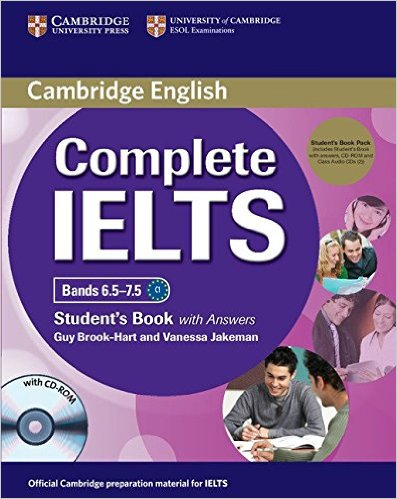 COMPLETE IELTS Bands 6.5-7.5 Student's Book with Answers + CD-ROM + Audio CD