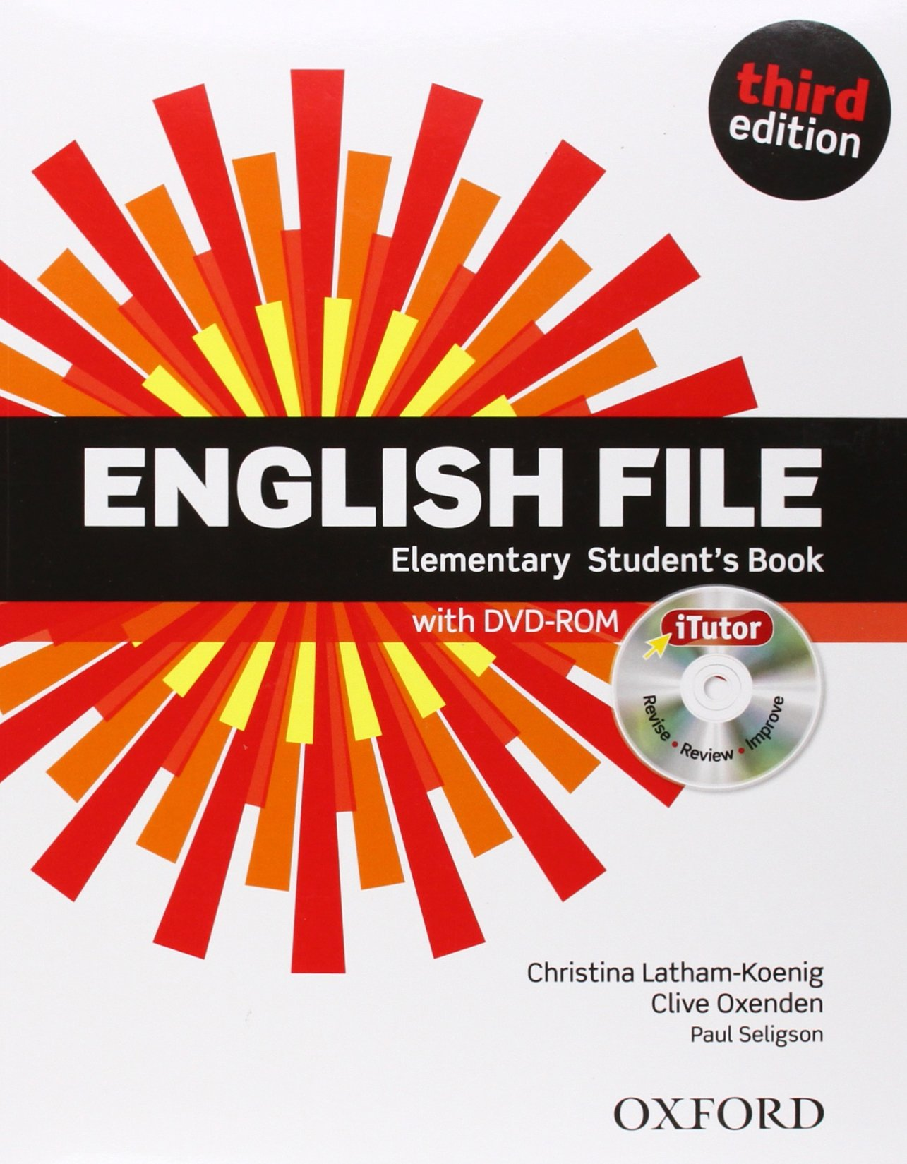 ENGLISH FILE ELEMENTARY 3rd ED Student's Book with iTutor Pack