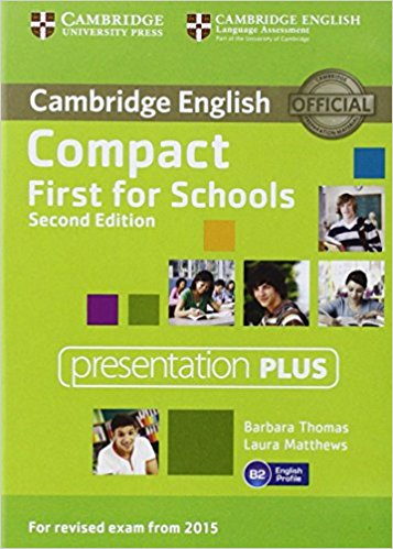Compact First for Schools 2nd Ed Presentation Plus DVD-ROM