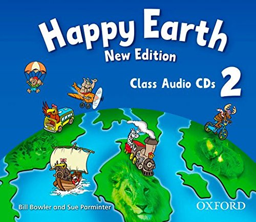 HAPPY EARTH 2 New ED Class Audio CD
