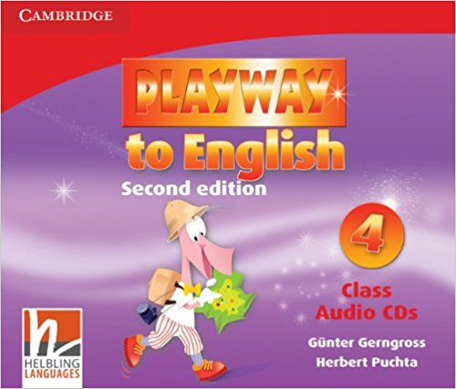 PLAYWAY TO ENGLISH 2nd ED 4 Class Audio CD (x4)