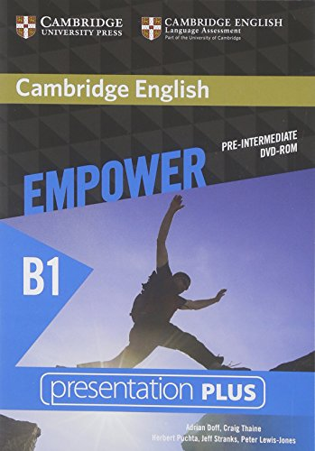 CAMBRIDGE ENGLISH EMPOWER PRE-INTERMEDIATE Presentation Plus DVD-ROM