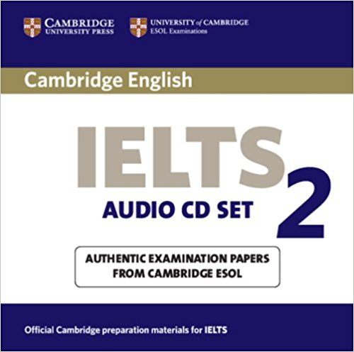 CAMBRIDGE IELTS 2  Audio CD