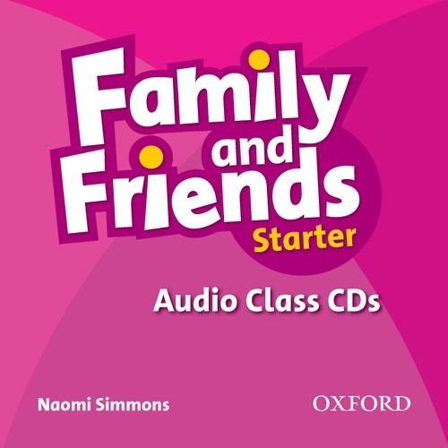 FAMILY & FRIENDS Starter Class Audio CD(x2)