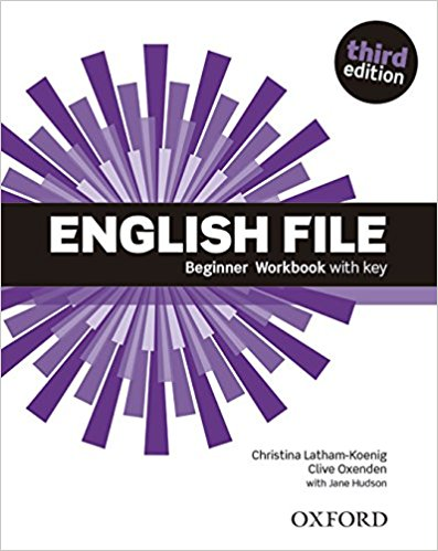 ENGLISH FILE BEGINNER 3rd ED Workbook with Key