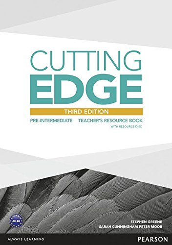 CUTTING EDGE PRE-INTERMEDIATE 3rd ED Teacher's Resource Book+CD-ROM