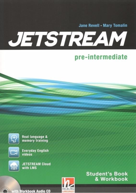 JETSTREAM Pre-Intermediate Student's Book and Workbook with e-Zone