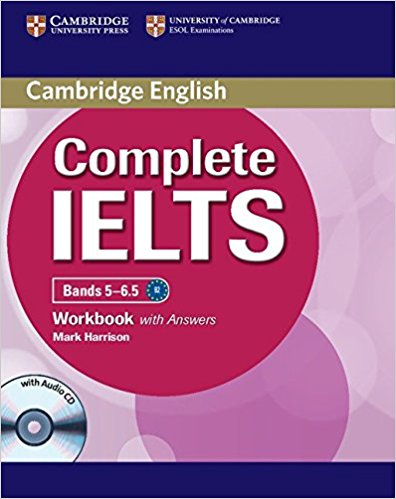 COMPLETE IELTS Bands 5-6.5 Workbook with Answers + Audio CD
