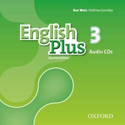 ENGLISH PLUS 3 2ED Class Audio CDs