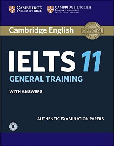 CAMBRIDGE IELTS 11 GENERAL Student's Book with Answers + Audio CD