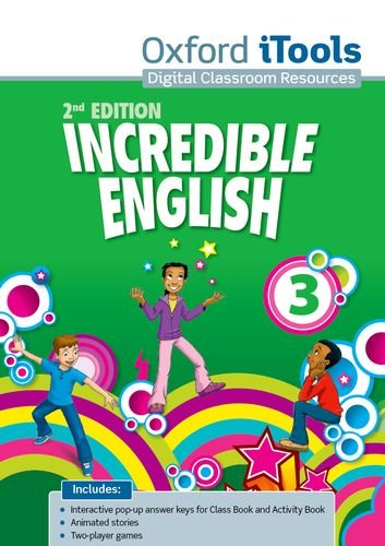INCREDIBLE ENGLISH  2E 3 ITOOLS * OP!