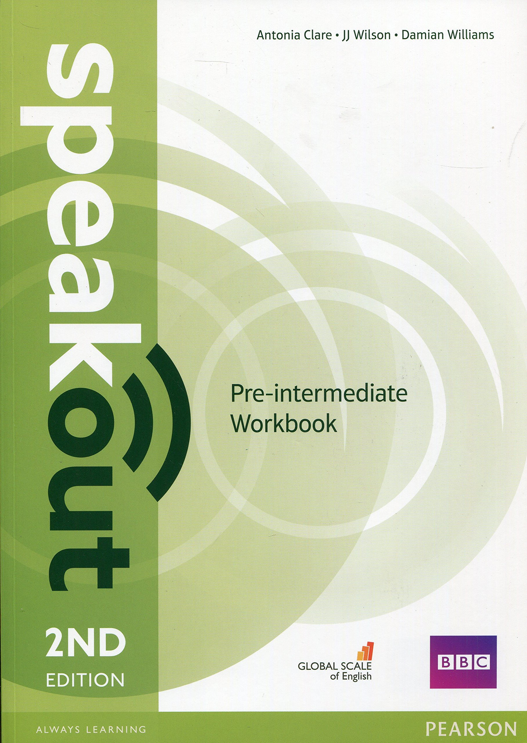 SPEAKOUT  PRE-INTERMEDIATE 2nd ED Workbook  without answers