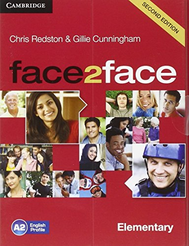 FACE 2 FACE  ELEMENTARY 2nd ED Student's Book+DVD