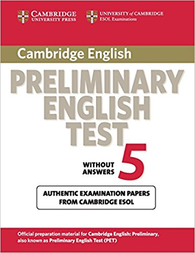 Cambridge PET 5 Student's Book