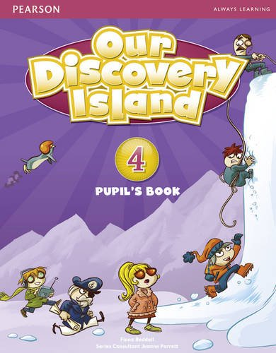 OUR DISCOVERY ISLAND 4 Pupil's Book + Pin Code